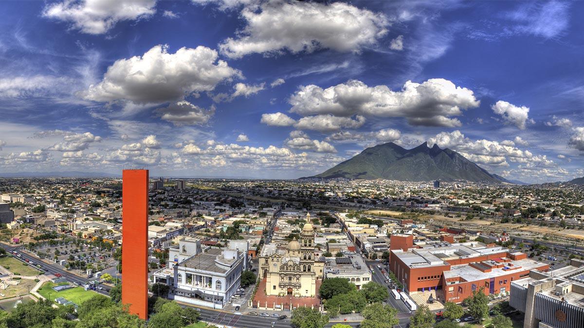 panorámica de la ciudad de Monterrey